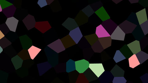 Rotating multicolored shards Animation