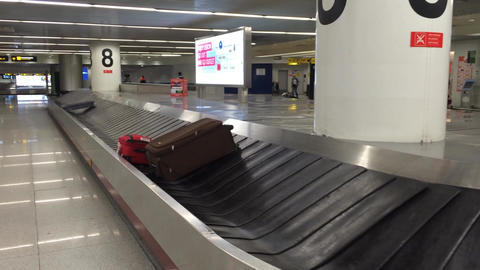 airport baggage collection Footage