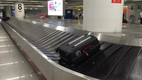 Baggage Carousel stock footage