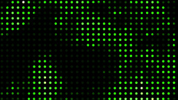 Digital Green Led Light Show stock footage