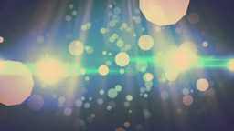 Light Particles Moving With Beam stock footage