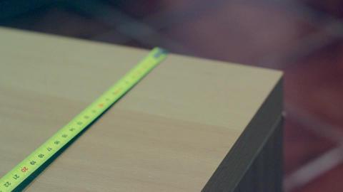 Measure Tape , Film Look stock footage