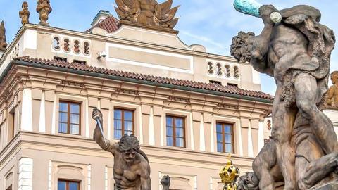 Prague Castle Footage
