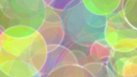Colorful Circles Burst Animation
