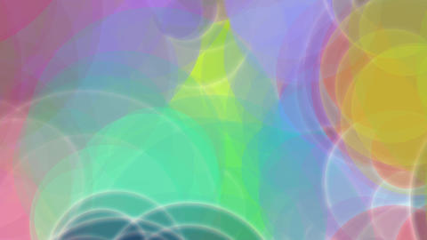 Colorful Bright Circles Burst stock footage