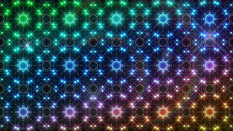 LED Light Kaleidoscope P2BiK3 HD Animation