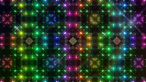LED Light Kaleidoscope P3BoK3 HD Animation