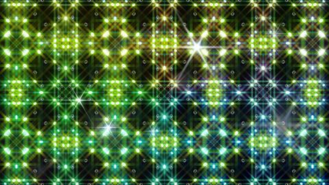 LED Light Kaleidoscope W2BiK4 HD Stock Video Footage