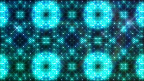LED Light Kaleidoscope W2BoK2 HD Stock Video Footage