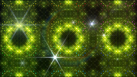 LED Light Kaleidoscope W2BoK4 HD Stock Video Footage