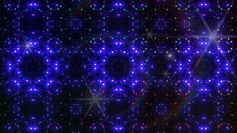 LED Light Kaleidoscope W2BoK4 HD CG動画