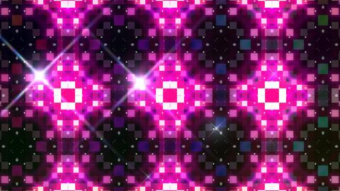 LED Light Kaleidoscope W3BoK3 HD Stock Video Footage