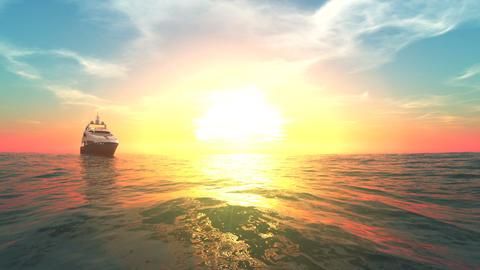 Sailing Boat CG動画