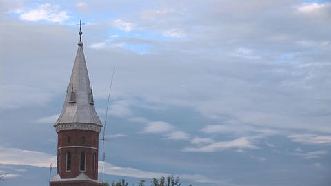 catholic church 3 Stock Video Footage