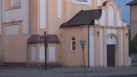 Greek Catholic Church 5 Stock Video Footage
