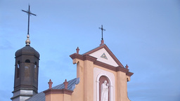 Greek Catholic Church 5 Stock Video Footage
