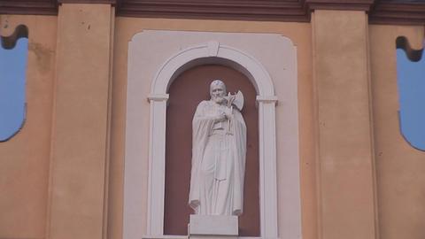 Greek Catholic Church 7 Stock Video Footage