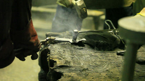 forging Stock Video Footage