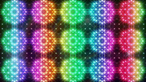 LED Light Kaleidoscope C2BiK3 HD CG動画