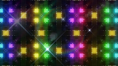 LED Light Kaleidoscope C3BoK2 HD Stock Video Footage