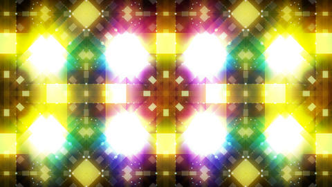 LED Light Kaleidoscope C3BoK4 HD Stock Video Footage