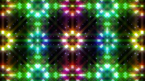 LED Light Kaleidoscope C3BoK4 HD Stock Video Footage