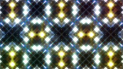 LED Light Kaleidoscope W3BoK5 HD Stock Video Footage