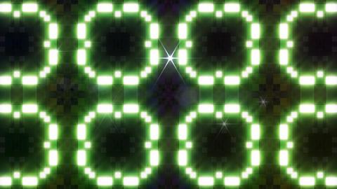 LED Light Kaleidoscope W3BoK7 HD Stock Video Footage