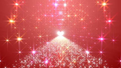 LED Light Heart 4 H1LB2 HD Stock Video Footage