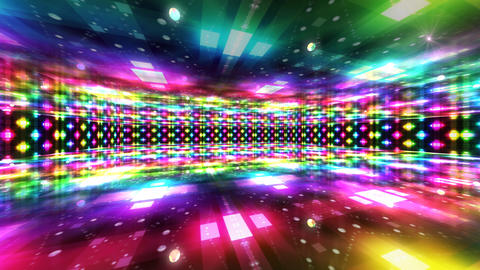 Dance Floor A1 HD Stock Video Footage