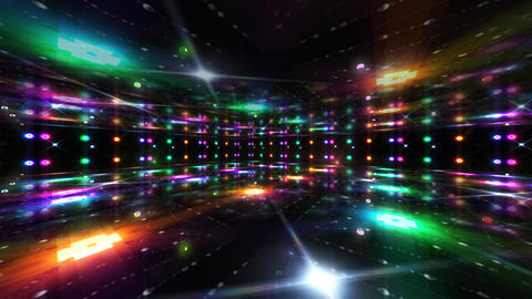 Dance Floor A3 HD Stock Video Footage