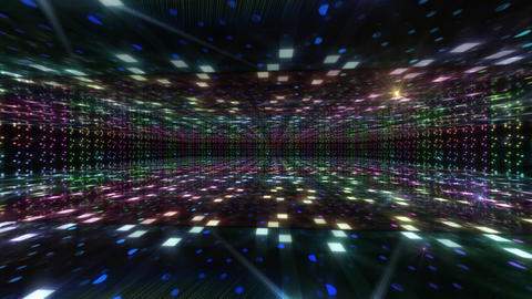 Dance Floor B1 HD Stock Video Footage