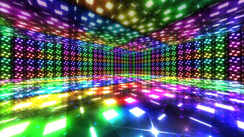 Dance Floor B3 HD Stock Video Footage