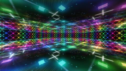 Dance Floor D1 HD Stock Video Footage