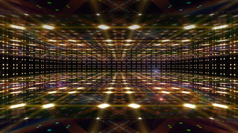 Dance Floor D4 HD Stock Video Footage