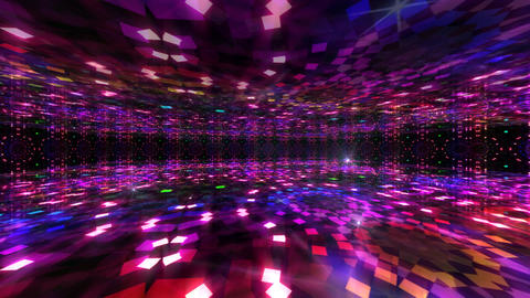 Dance Floor I3 HD Stock Video Footage