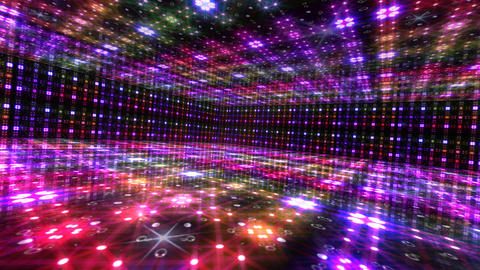 Dance Floor L2 HD Stock Video Footage
