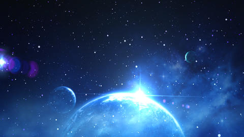 space background Stock Video Footage