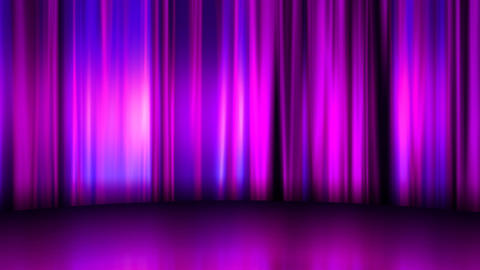 Curtain Stage Background Curtain Stage natural commerce purple silk Animation
