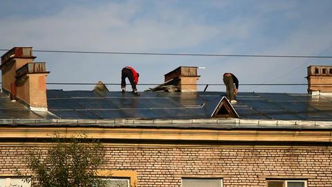 Roof repairs Footage