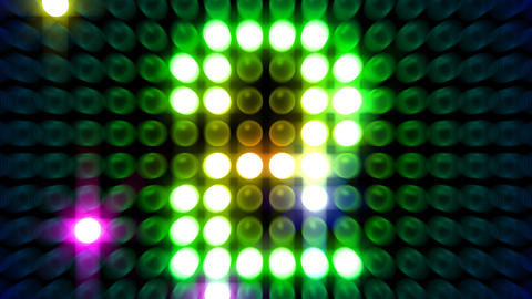 LED Countdown AbM1 HD Stock Video Footage