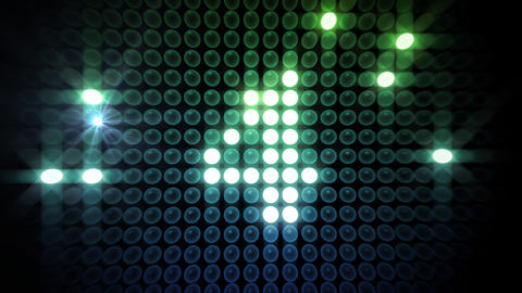 LED Countdown AbR3 HD Stock Video Footage