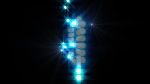 LED Countdown ArR3 HD Stock Video Footage