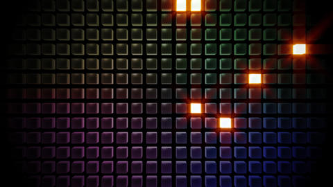 LED Countdown BbF2 HD Stock Video Footage