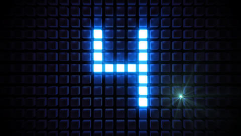 LED Countdown BrM4 HD Animation