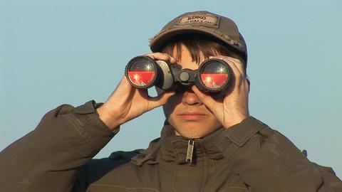 binocular 2 Footage