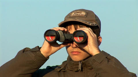 binocular 4 Footage