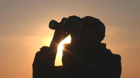 binocular 10 Footage