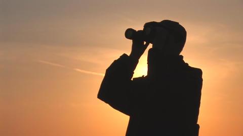 binocular 14 Stock Video Footage