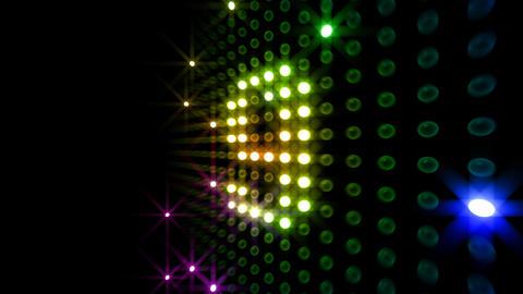LED Countdown DbR2 HD Stock Video Footage